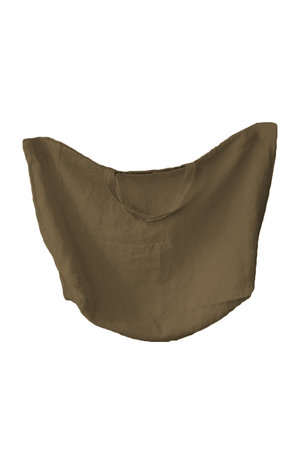 Linge Particulier Linen carry bag - curry