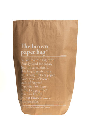 Be-pôles The brown paperbag