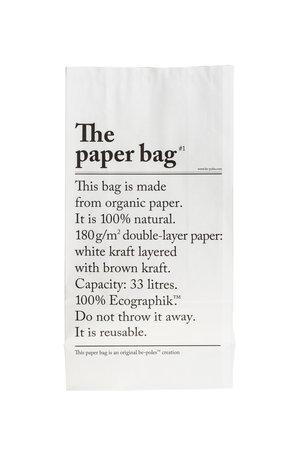 Be-pôles Le sac en papier