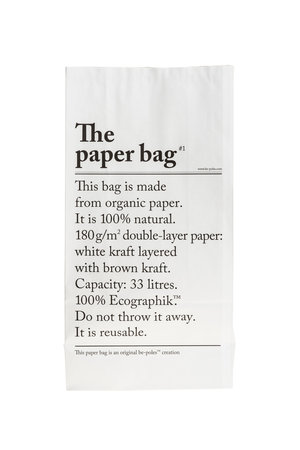Be-pôles The paperbag