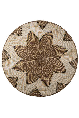 Lombok plate - flower