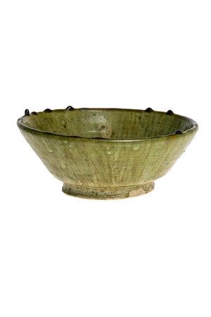Couleur Locale Tamegroute bowl  - lichtgroen