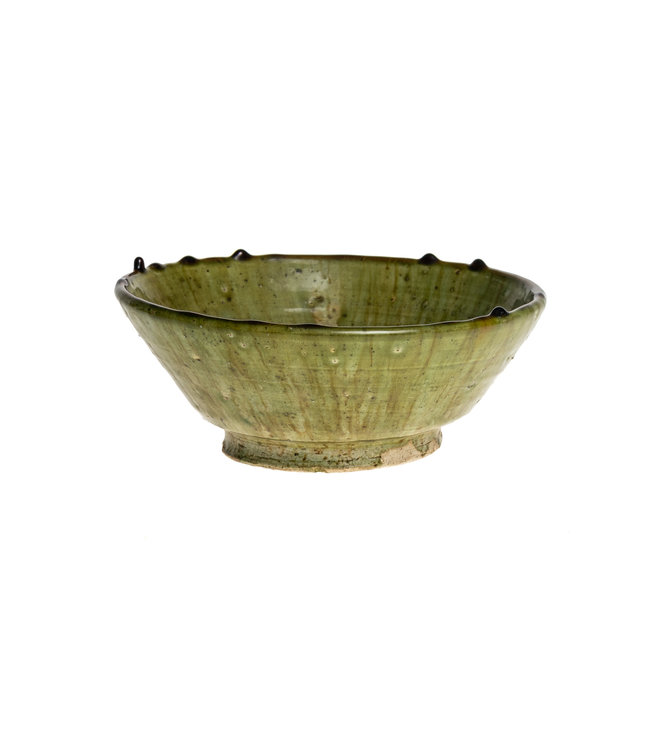 Couleur Locale Tamegroute bowl - light green