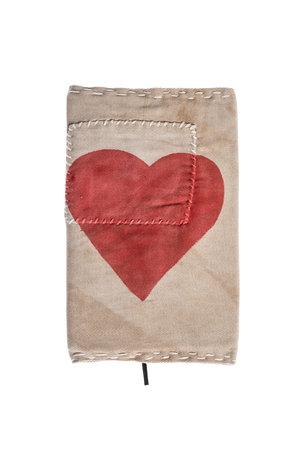 Ali Lamu Ali Lamu notebook - rood hart