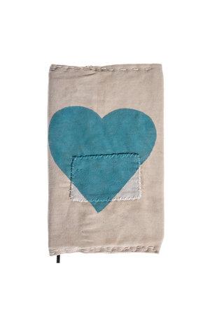 Ali Lamu Ali Lamu notebook - blauw hart