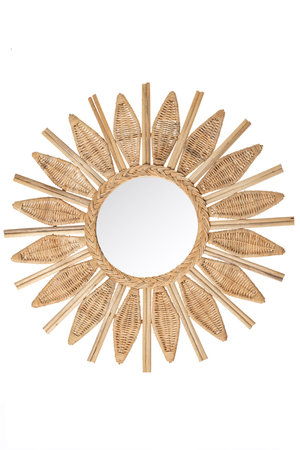 Rattan mirror 'Neri'