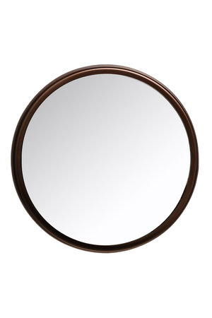 Caravane Mirror black steel 'Lou'