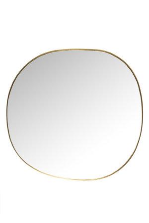 Caravane Mirror brass