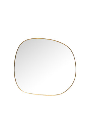 Caravane Mirror brass, small