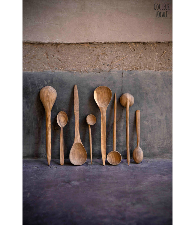 Couleur Locale Spoon flat - olive wood