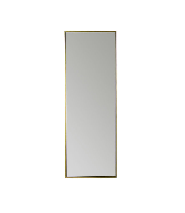 Mirror metal frame 170cm  - honey/gold