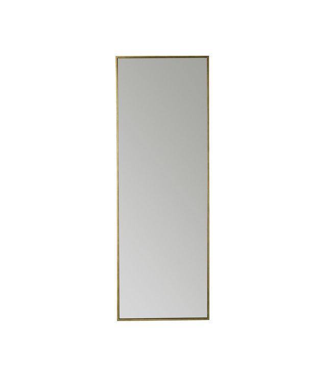Spiegel metalen frame 170cm  - honey/gold