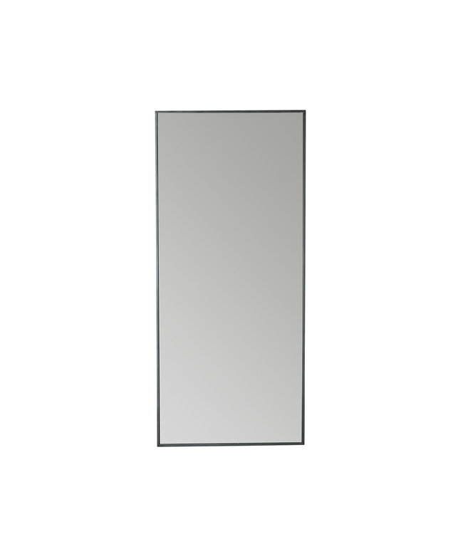 Tine K Home Mirror metal frame 180cm - phantom