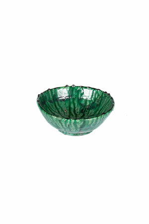 Couleur Locale Tamegroute bowl - green