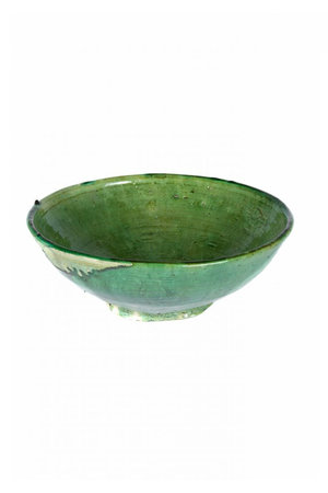 Couleur Locale Tamegroute salad bowl - green