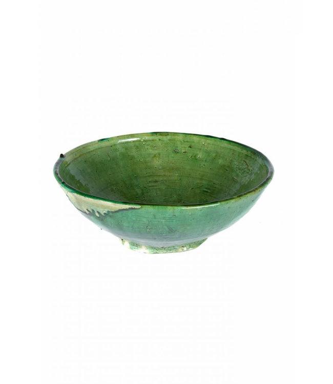 Tamegroute salad bowl - green
