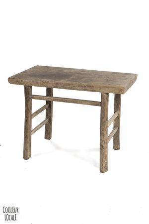 Sidetable elm wood  106cm