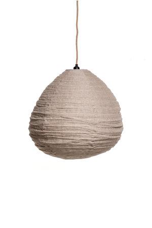 Lantern lamp linen