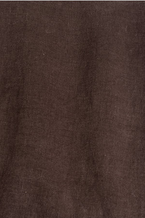 Linge Particulier Pillow case linen - dark brown