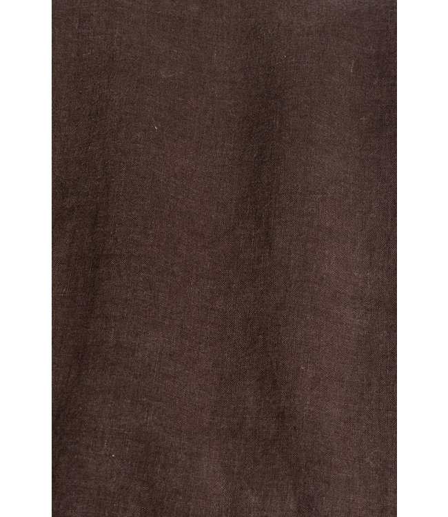Linge Particulier Pillow case linen - dark brown