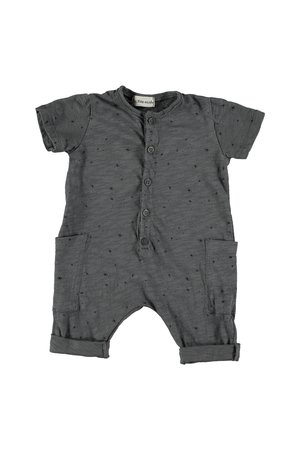 My little cozmo Jumpsuit baby supernova - dark grey