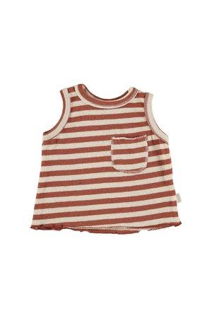 My little cozmo Top kids knit stripe - tile