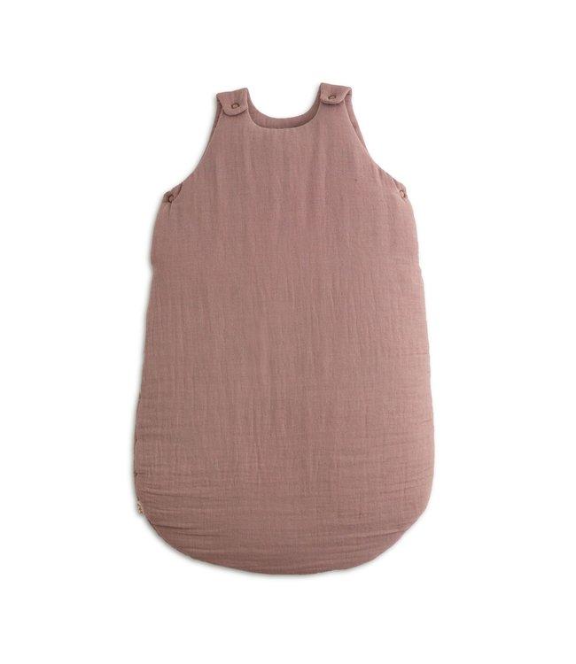 Winter sleeping bag - dusty pink