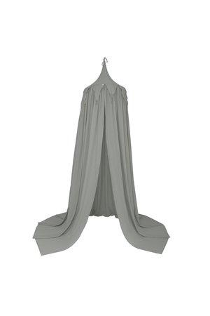 Numero 74 Circus bunting canopy - silver grey