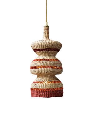 Hanglamp '3 tier' - naturel/ginger