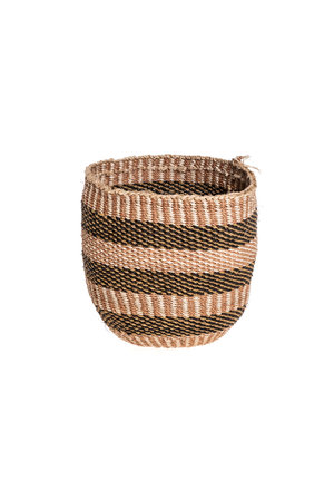 Couleur Locale Sisal basket - earth colors #7