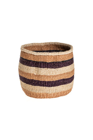 Couleur Locale Sisal basket - earth colors #8