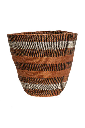 Couleur Locale Sisal basket - earth colors #29