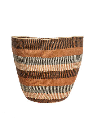 Couleur Locale Sisal basket - earth colors #28