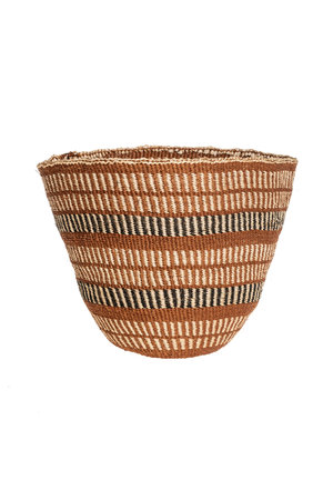 Couleur Locale Sisal basket - earth colors #21