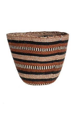 Couleur Locale Sisal basket - earth colors #18