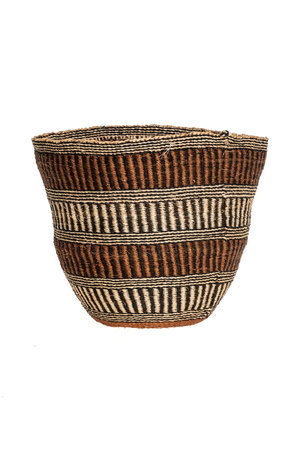 Couleur Locale Sisal basket - earth colors #17
