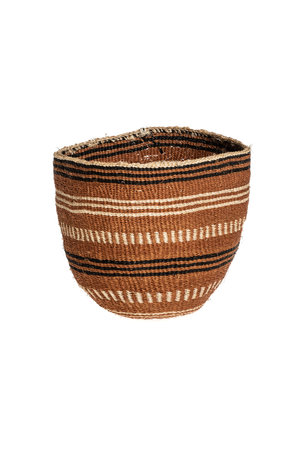 Couleur Locale Sisal basket - earth colors #9
