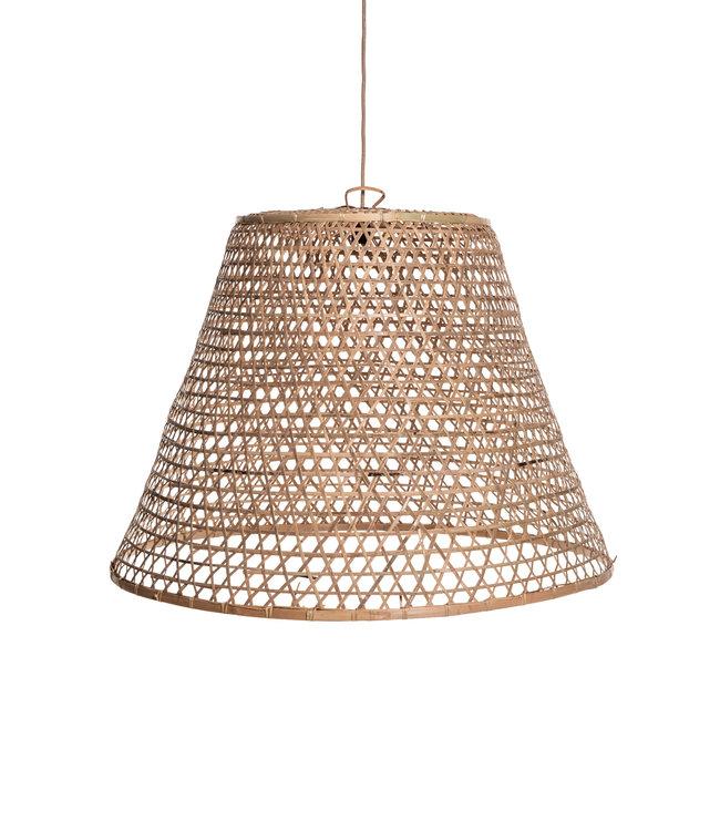 Bamboe hanglamp 'kapal'