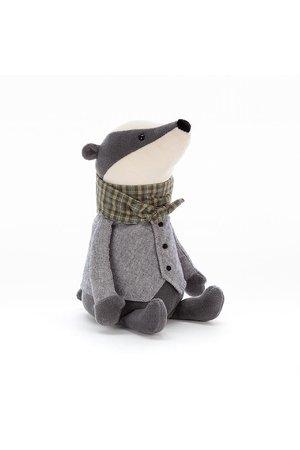 Jellycat Limited Riverside rambler badger