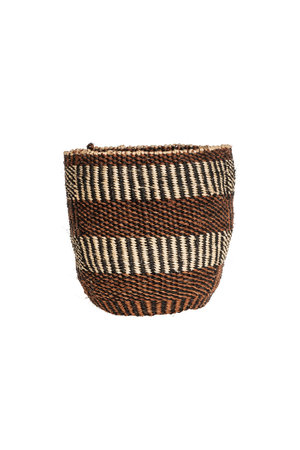 Couleur Locale Sisal basket - earth colors #10