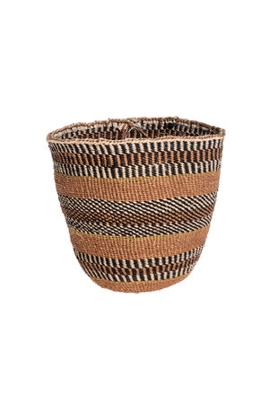 Couleur Locale Sisal basket - earth colors #12