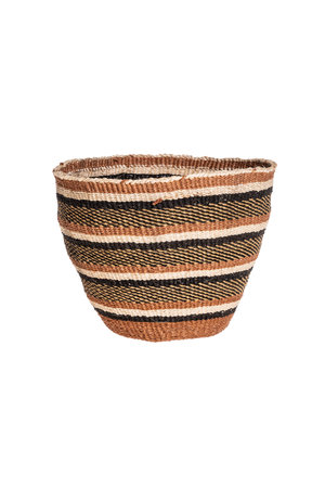 Couleur Locale Sisal basket - earth colors #13