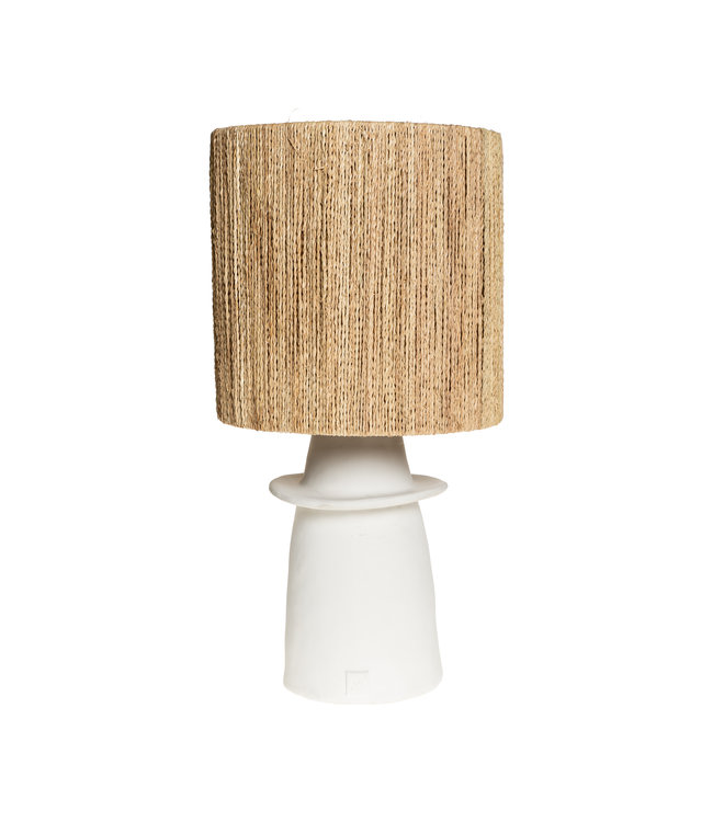 White table lamp n°1 cord