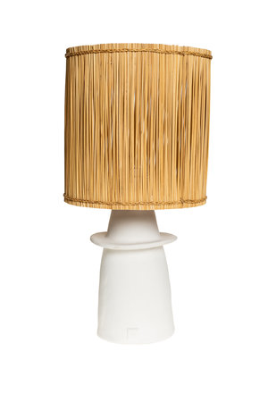 Rock The Kasbah White table lamp n°1 reed