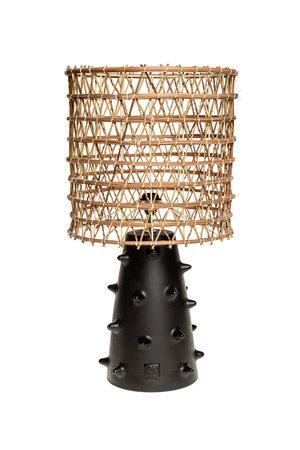 Rock The Kasbah Zwarte tafellamp n°2 dadelpalm