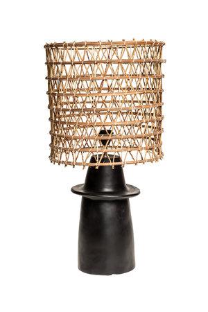 Rock The Kasbah Zwarte tafellamp n°1 dadelpalm