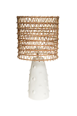 Rock The Kasbah Witte tafellamp n°2 dadelpalm