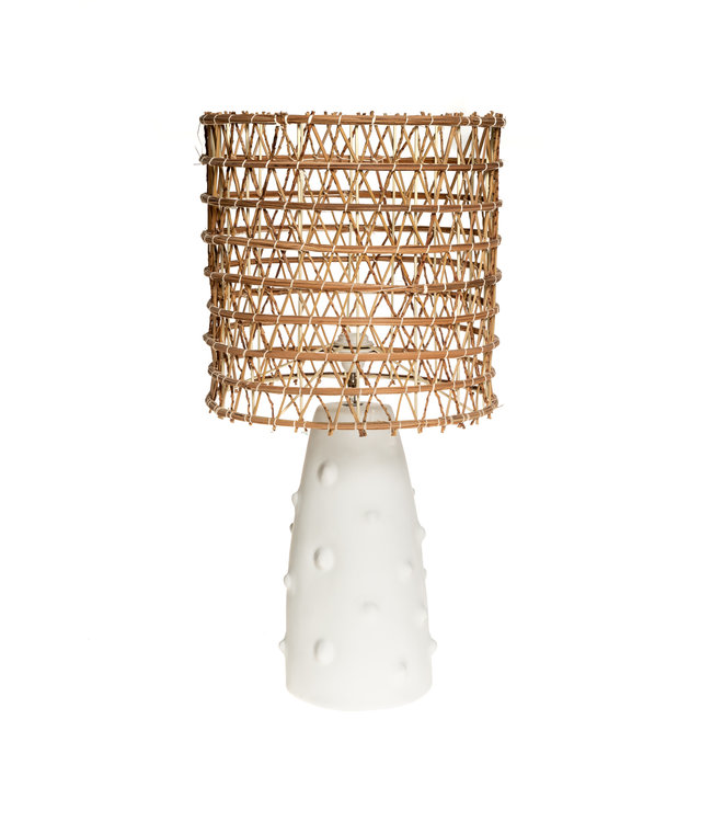 White table lamp n°2 date palm