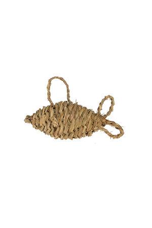 Gevlochten vis zeegras - S