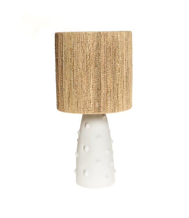 White table lamp n°2 cord